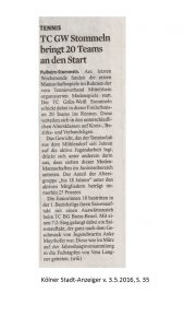 TCS in der Presse