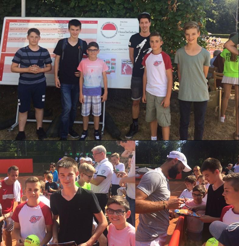 Tennis-Jugend bei Rot-Weiss Köln